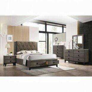 Mcgowen Upholstered Standard Configurable Bedroom Set by Loon Peak