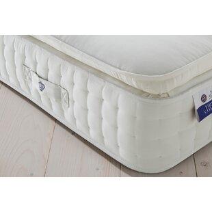 Tufted Latex 2000 Pocket Pillowtop Firmer Mattress By Rest Assured