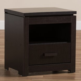 Higgston 1 Drawer Nightstand