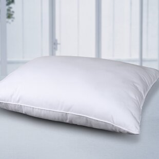Alwyn Home Cliffo Feather and Cotton Bed Pillow