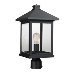 Leroy Modern 1-Light Beveled Glass Lantern Head