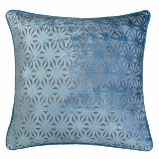 Starr Cut 100% Velvet Throw Pillow