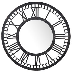 17 Stories Lana Clock Design Accent Mirror