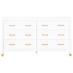 Compare Skelmersdale 6 Drawer Double Dresser by Everly Quinn