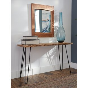 Stone Media Console and Mirror Set