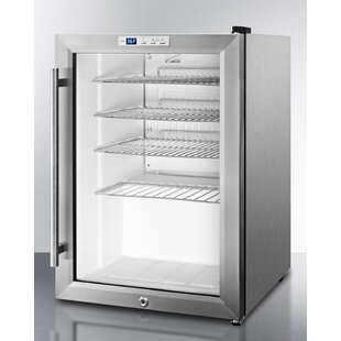 Commercial Compact Beverage Center Single Zone Built-In Convertible Wine Cellar by Summit Appliance