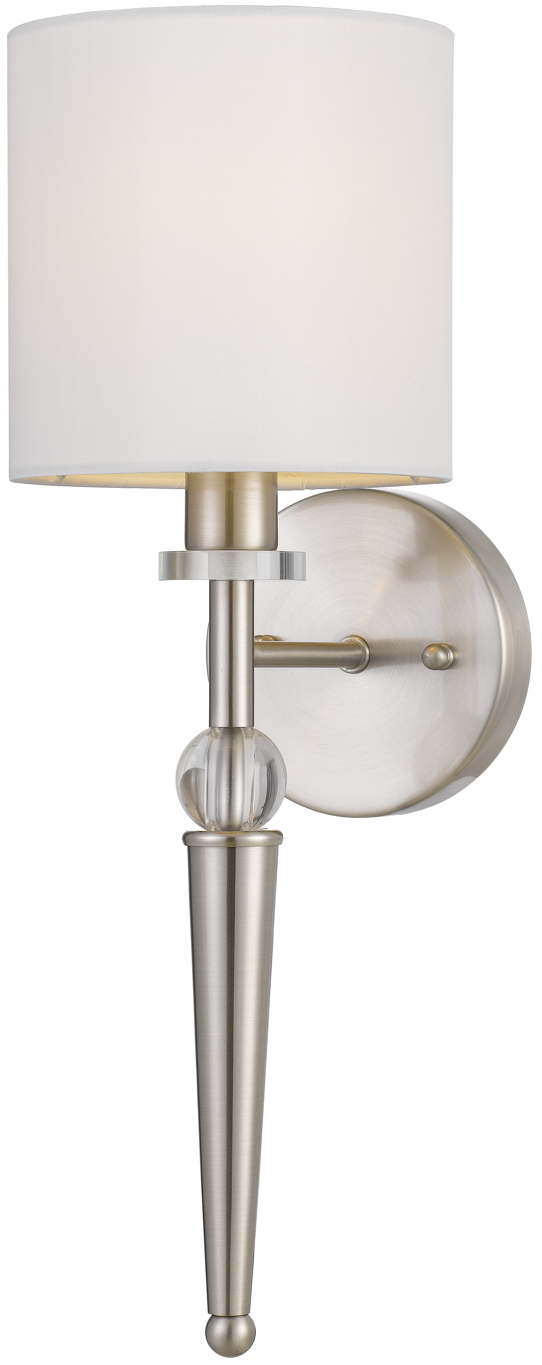 Crystal Wallchiere Wall Sconces You Ll Love In 2021 Wayfair
