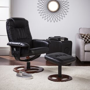 Affordable Grogg Manual Swivel Recliner with Ottoman by Orren Ellis Reviews (2019) & Buyer's Guide