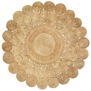 Highwood Jute Hand-Braided Natural Area Rug by Laurel Foundry Modern Farmhouse