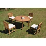 Parkridge 5 Piece Teak Dining Set