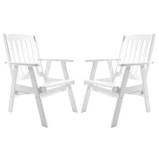 Heckson Reclining Garden Chair (Set Of 2) By Alpen Home