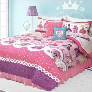 Zoomie Kids Holliman Rosalie Comforter Set