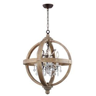 Ophelia & Co. Montecito 4-Light Globe Chandelier