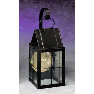 Best Reviews 300 Series 1-Light Outdoor Wall Lantern By Brass Traditions