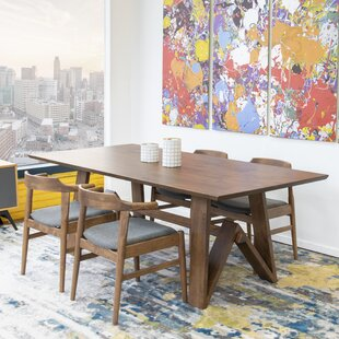 Derr Dining Set 4 Zola Leather