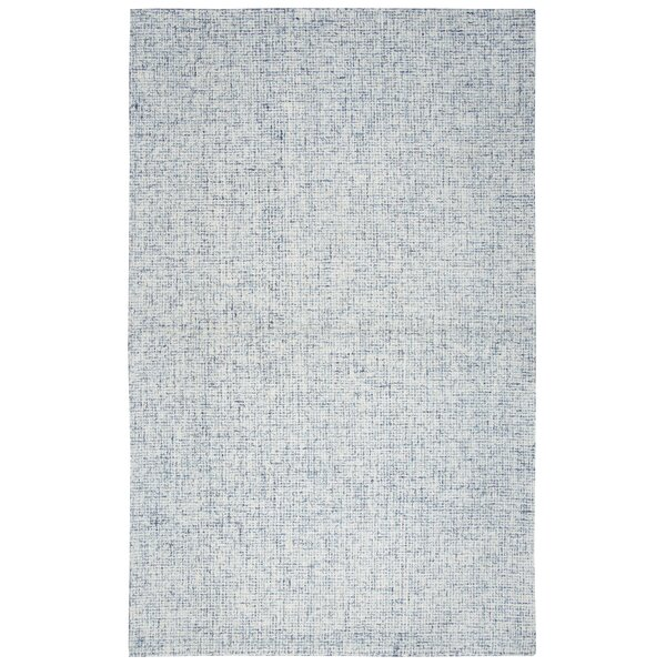 Pershing Hand Tufted Wool Light Blue