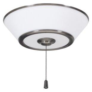 Order Modern 3-Light Bowl Ceiling Fan Light Kit By Brayden Studio