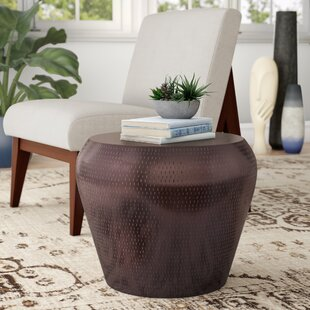 Alyse Metal Accent Stool by Mistana