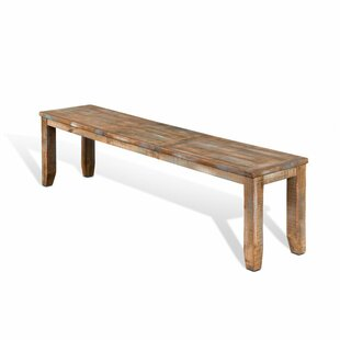 Waldron Wood Bench by Loon Peak
