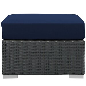 Sojourn Outdoor Patio Ottoman by Modway
