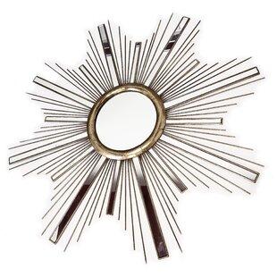 Mercer41 Starburst Metal Wall Mirror