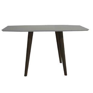 Wrought Studio Krueger Mid-Century Modern Extendable Dining Table