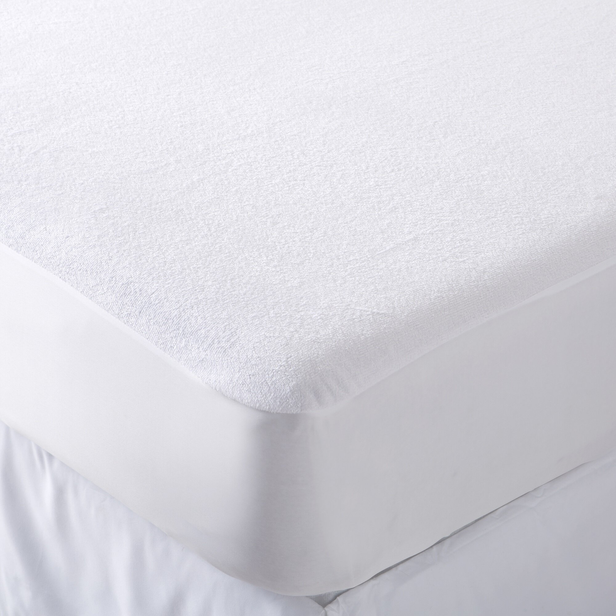 Bunk Bed Waterproof Washable Mattress Protector Terry Wet Sheet Mattress Cover