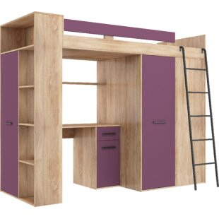 Sales Coleridge European Single (90 X 200cm) Bed Frame With Furniture Set