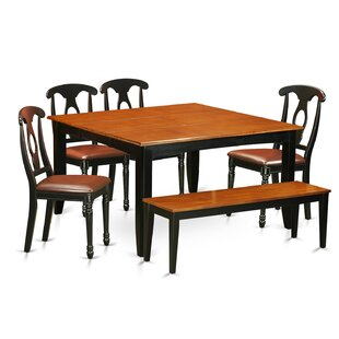 Pilning Contemporary 6 Piece Dining Set by August Grove Best Choices