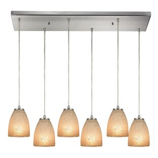 Hermione 6-Light Cluster Pendant by Latitude Run