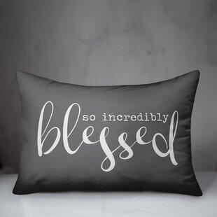 Devi Designs Pillow Blessed Wayfair