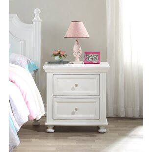 Narelle Princess 2 Drawer Nightstand by Harriet Bee