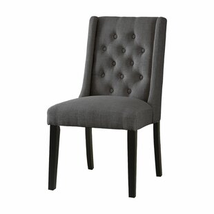 Canora Grey Oneridge Upholstered Dining Chair (Set of 2)
