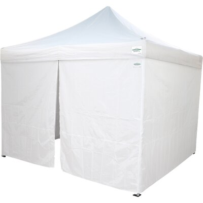 10 Ft. W x 10 Ft. D Commercial Grade Sidewalls Canopy Caravan Canopy