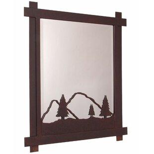 Steel Partners Timber Ridge Wall Mirror