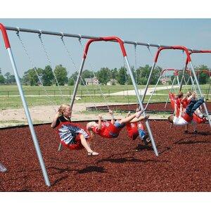4-Place Bipod Swing Set