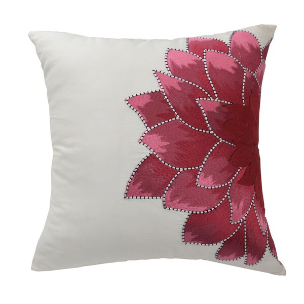 Blissliving Home Mexico City Dahlia Silk Throw Pillow Reviews