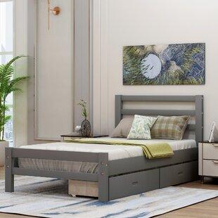 Marxim Low Profile Storage Platform Bed