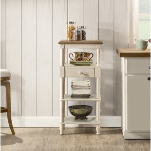 Highland Dunes Holst Tall Basket Stand with Middle Drawer