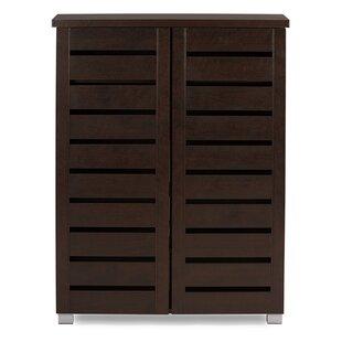 15 Pair Shoe Storage Cabinet