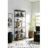 Tacony 84 H x 32 W Metal Etagere Bookcase by 17 Stories