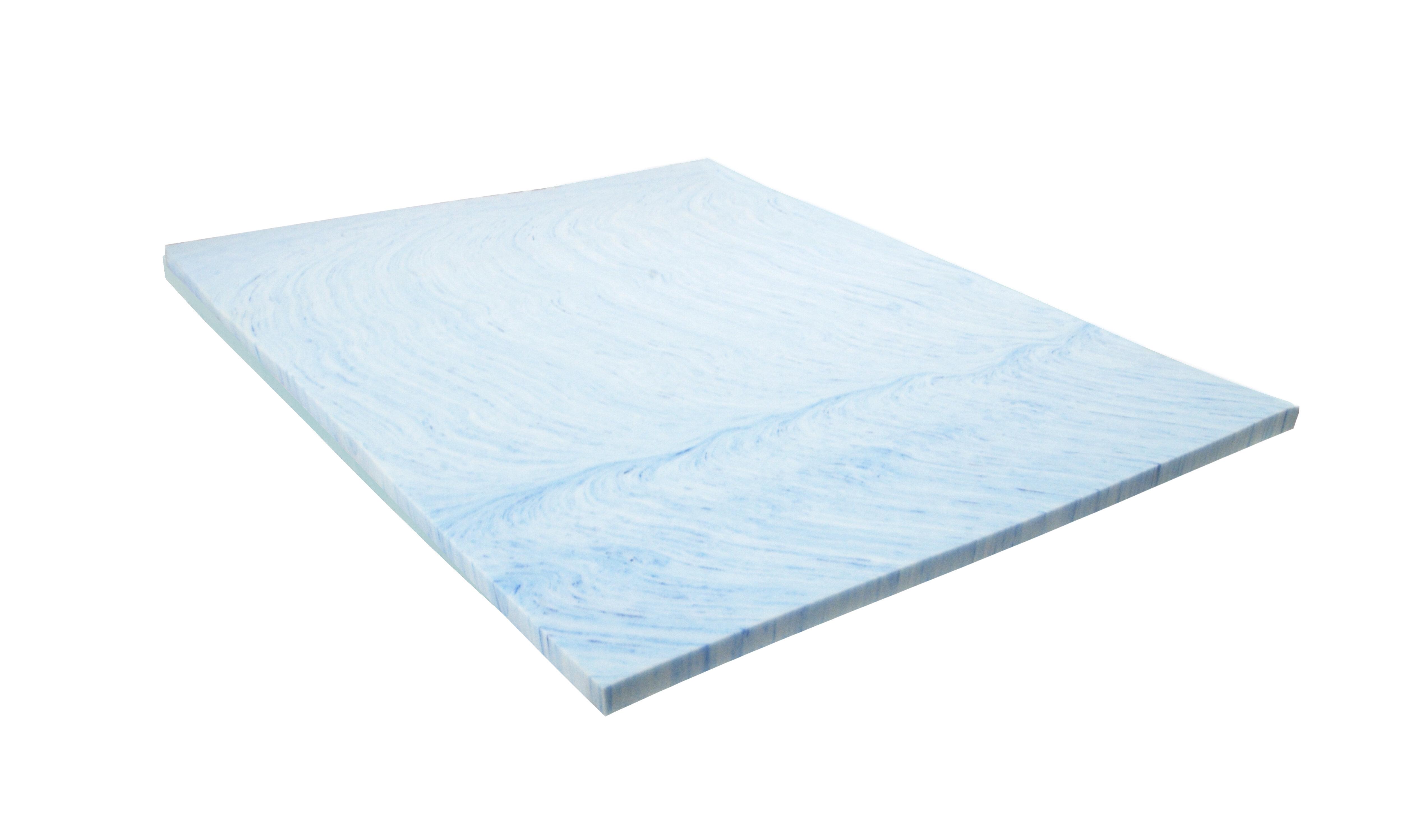Alwyn Home Isotonic Swirl 3 Memory Foam Mattress Topper Wayfair
