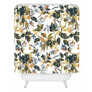 Marta Barragan Camarasa Autumnal Nature I Single Shower Curtain