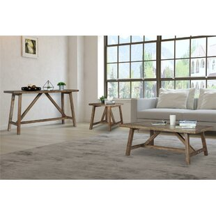 Loon Peak Wilfong 3 Piece Coffee Table Set