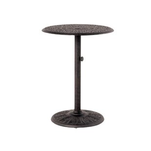 Merlyn Pedestal Aluminum Bar Table