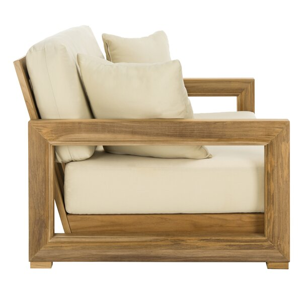 Lakeland Teak Loveseat With Cushions