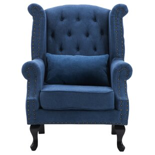 Duprey Wingback Chair By Marlow Home Co.