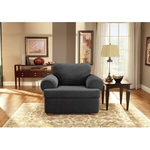 Sure Fit T-Cushion Armchair Slipcover