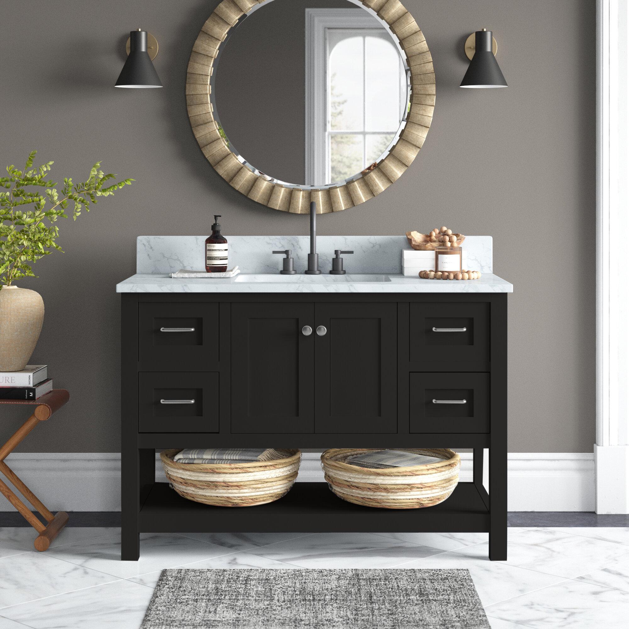 48 Inch Bathroom Vanities Joss Main