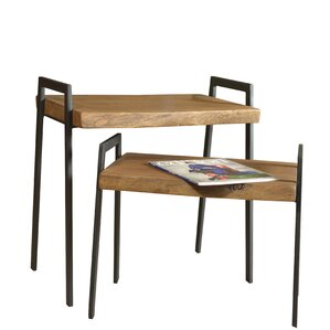 Massey 2 Piece Nesting Tables by Union Rustic